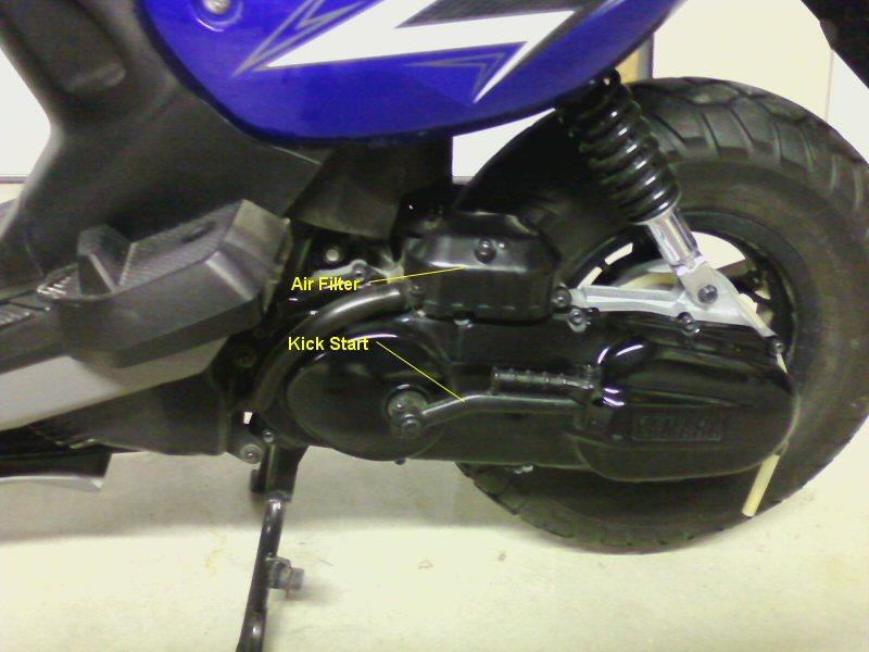2KOOL4U COM 2011 Yamaha Zuma 50cc